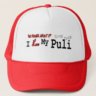 Puli Liebhaber-Geschenke Truckerkappe