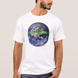 Pumpen-Raum mietet jetzt - Vintagen Planeten T-Shirt