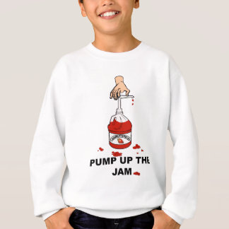 Pumpen Sie oben den Stau Sweatshirt