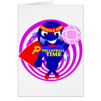 Pumpen-Zeit-Volleyball-Zeit Karte