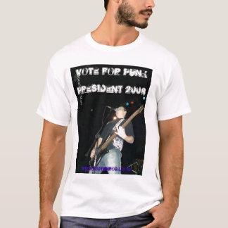 Punk, Abstimmung für PUNK, Präsident 2008, T-Shirt