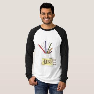 Punk der Raglan-Spitze Raum-Diffusor keiner T-Shirt