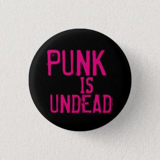 Punk ist untoter Knopf Runder Button 2,5 Cm