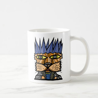 """Punk Kat"" 11 Unze-Klassiker-Tasse Kaffeetasse"