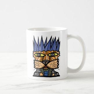 """Punk Kat"" 11 Unze-Klassiker-Tasse Tasse"