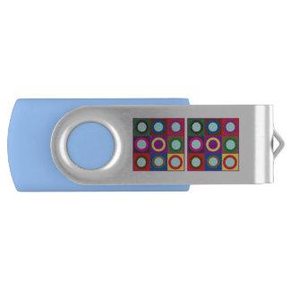 PUNKT-QUADRATE 8-64 USB 3,0 Schwenker USB Stick