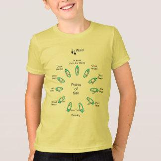Punkte des Segels T-Shirt