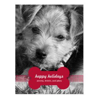 PUNKTE Feiertags-Foto kardiert Postkarte