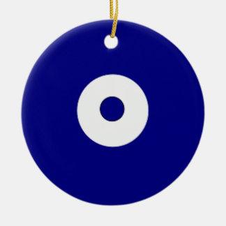 Punkte Keramik Ornament