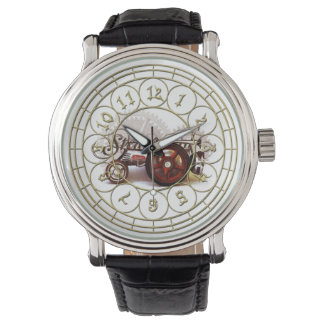 Punktraktor-Uhr Armbanduhr