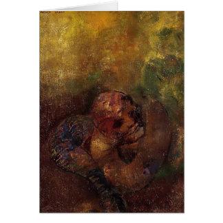 Puppe durch Odilon Redon Karte