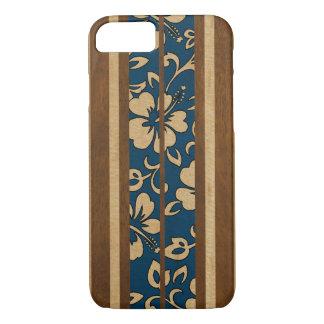 Pupukea Vintages hawaiisches Imitat-Holz-Surfbrett iPhone 8/7 Hülle