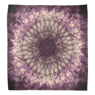 Purple Mandala Halstuch