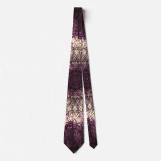 Purple Mandala Individuelle Krawatten
