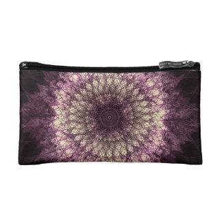 Purple Mandala Makeup-Tasche