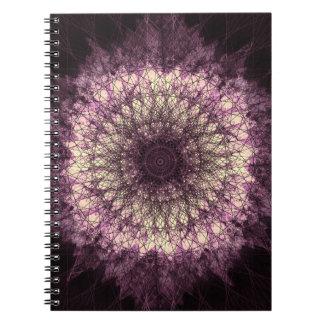 Purple Mandala Notizblock