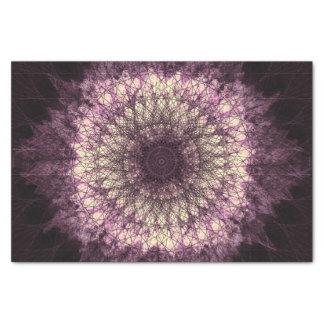 Purple Mandala Seidenpapier