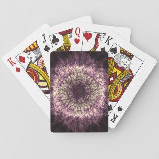 Purple Mandala Spielkarten