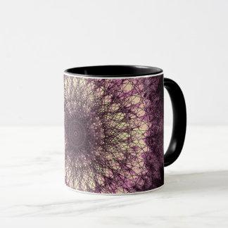 Purple Mandala Tasse