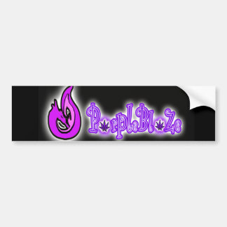 PurpleBlaZe Logoaufkleber Autoaufkleber