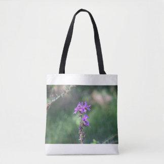 purpleflowertotebag tasche
