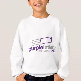 PurpleLetter_Logo+Umbau Sweatshirt