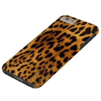 Purrrfect Leopard Tough iPhone 6 Plus Hülle
