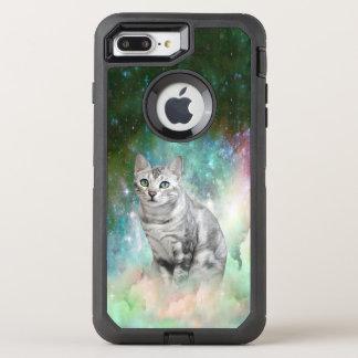 Purrsia Miezekatze-Galaxie OtterBox Defender iPhone 8 Plus/7 Plus Hülle