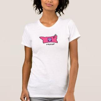 Pussy-Hut widerstehen T - Shirt mit Powerzeichen