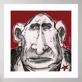 Putin-Karikatur Poster