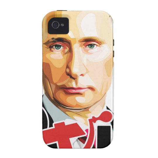 Putin - Russland iPhone 4/4S Hülle