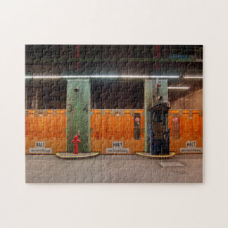 Puzzle alter Elbtunnel