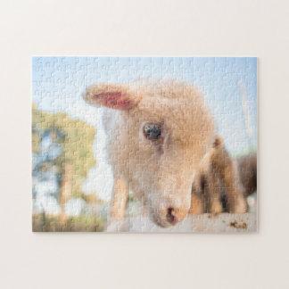 Puzzle des kleinen Lamms