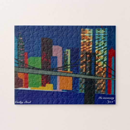 """Puzzle New York """"In memory 911"""""""