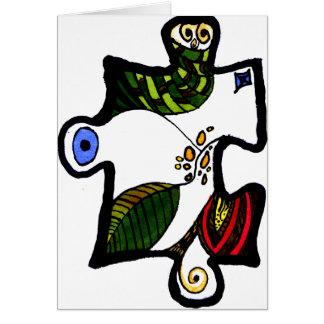 Puzzle-Stück 01 Karte