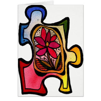 Puzzle-Stück 11 Karte