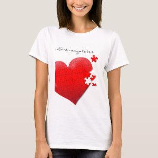 Puzzleherz T - Shirt der Liebe