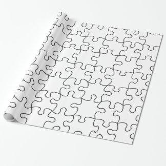 Puzzlespiel bessert aus (addieren Sie Geschenkpapier