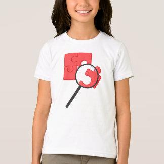 Puzzlespiel bessert Mädchen-T - Shirt aus