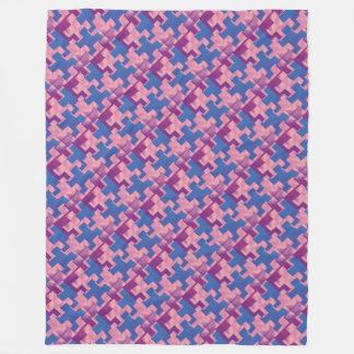 Puzzlespiel bessert PBP Fleece-Decke aus Fleecedecke