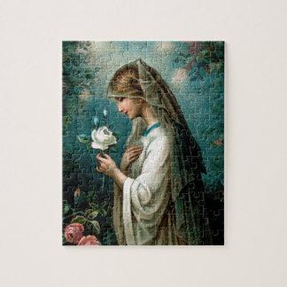 Puzzlespiel: Mystische Rose