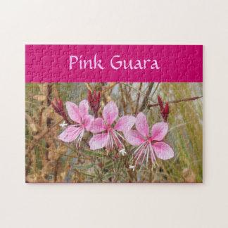 Puzzlespiel - rosa Guara