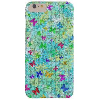 Puzzlespiel-Schmetterlinge und Barely There iPhone 6 Plus Hülle