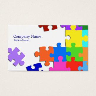 Puzzlespiel Visitenkarte