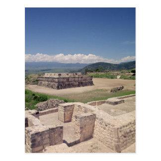 Pyramide der mit Federn versehenen Schlange Postkarte