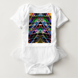 PYRAMIDE - genießen Sie heilendes Energie-Spektrum Baby Strampler