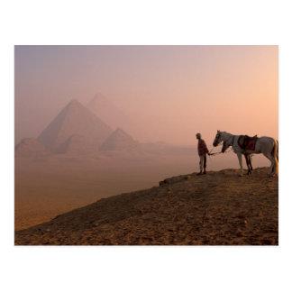 Pyramides de l'Afrique, Egypte, le Caire, Gizeh, G Carte Postale