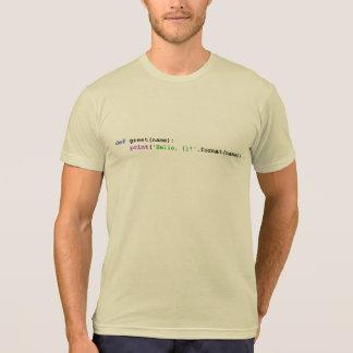 Pythonschlange-Gruß-Shirts und -spitzen T-Shirt