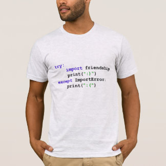 Pythonschlange-Programm: Gelassen uns seien Sie T-Shirt