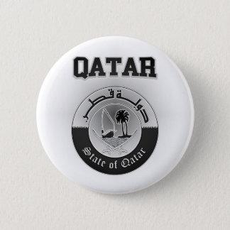 Qatar-Wappen Runder Button 5,1 Cm